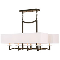 Livex Woodland Park 8 Light Chandelier in Olde Bronze 50709-67