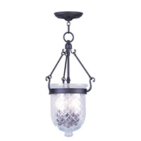 Livex Lighting Jefferson 3 Light Pendant in Bronze 5073-07