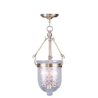 Livex Lighting Jefferson 3 Light Pendant in Antique Brass 5074-01
