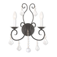 Livex Lighting Donatella 2 Light Wall Sconce in English Bronze 50762-92
