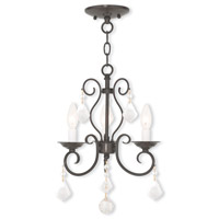 English Bronze Donatella Chandeliers
