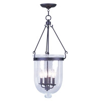 Livex Lighting Jefferson 4 Light Pendant in Bronze 5085-07