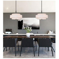Livex 50874-07 Meridian 4 Light 18 inch Bronze Pendant Ceiling Light