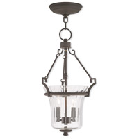 Livex Lighting Cortland 4 Light Pendant in Bronze 50922-07