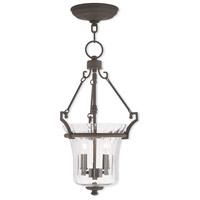 Livex 50922-07 Cortland 4 Light 11 inch Bronze Pendant Ceiling Light