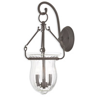 Livex 50940-07 Andover 2 Light 10 inch Bronze Wall Sconce Wall Light