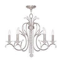 Livex Lighting Steel Serafina Chandeliers