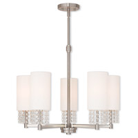 Brushed Nickel Steel Carlisle Chandeliers