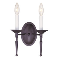 Livex Lighting Williamsburg 2 Light Wall Sconce in Bronze 5122-07