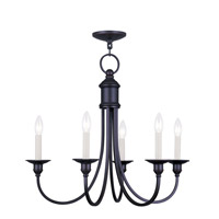Livex Lighting Cranford 5 Light Chandelier in Olde Bronze 5145-67
