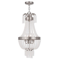 Valentina 4 Light 13 inch Brushed Nickel Pendant Ceiling Light