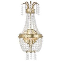 Valentina 1 Light 8 inch Hand Applied Winter Gold ADA Wall Sconce Wall Light