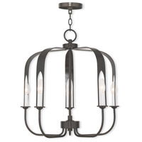 Addison 5 Light 22 inch English Bronze Chandelier Ceiling Light