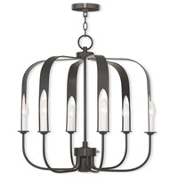 Livex 51936-92 Addison 7 Light 25 inch English Bronze Chandelier Ceiling Light