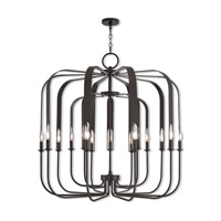 Livex 51949-92 Addison 15 Light 42 inch English Bronze Foyer Chandelier Ceiling Light