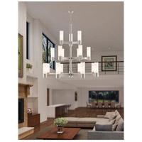 Livex 52119-91 Weston 17 Light 44 inch Brushed Nickel Foyer Chandelier Ceiling Light