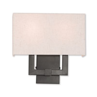 Livex 52132-92 Meridian 2 Light 13 inch English Bronze ADA Wall Sconce Wall Light