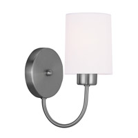 Livex Lighting Sussex 1 Light Wall Sconce in Brushed Nickel 5261-91