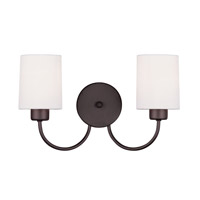 Livex Lighting Sussex 2 Light Wall Sconce in Bronze 5262-07