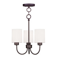 Livex Lighting Sussex 3 Light Pendant/Ceiling Mount in Bronze 5263-07