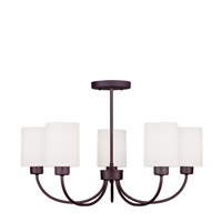 Livex Lighting Sussex 5 Light Chandelier/Ceiling Mount in Bronze 5265-07 alternative photo thumbnail