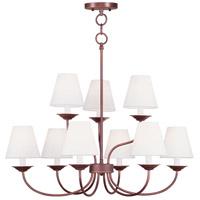 Livex 5279-70 Mendham 9 Light 28 inch Vintage Bronze Chandelier Ceiling Light