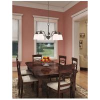 Livex 53855-07 Somerville 5 Light 24 inch Bronze Dinette Chandelier Ceiling Light