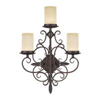 Livex Lighting Millburn Manor 3 Light Wall Sconce in Imperial Bronze 5482-58