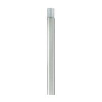 Livex Lighting 56050-34 Allison Brushed Silver Extension Stem