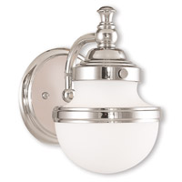 Oldwick 1 Light 6 inch Polished Chrome Bath Vanity Wall Light