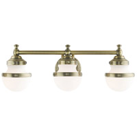 Livex Steel Oldwick Bathroom Vanity Lights