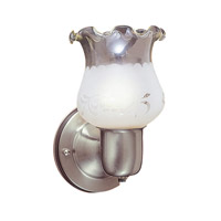 Livex Limited 1 Light Bath Light in Brushed Nickel 6038-91