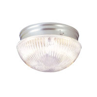 Livex 6080-91 Signature 1 Light 8 inch Brushed Nickel Ceiling Mount Ceiling Light photo thumbnail