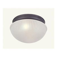 Livex Lighting Signature 1 Light Ceiling Mount in Bronze 6090-07