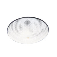 Livex Signature 2 Light Flush Mount in White 6096-03