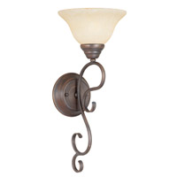 Livex Lighting Coronado 1 Light Wall Sconce in Imperial Bronze 6100-58