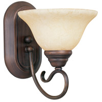 Coronado 1 Light 8 inch Imperial Bronze Bath Light Wall Light in Vintage Scavo