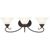 Livex Coronado 3 Light Vanity Light in Bronze 6103-07
