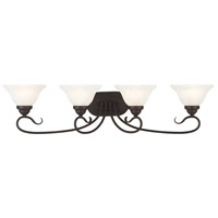 Livex Coronado 4 Light Vanity Light in Bronze 6104-07