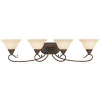Livex Lighting Coronado 4 Light Bath Light in Imperial Bronze 6104-58