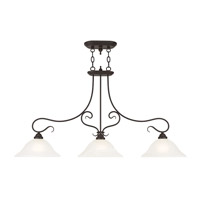 Livex Coronado 3 Light Island Light in Bronze 6108-07