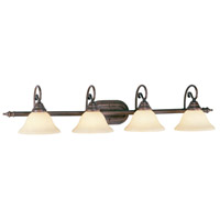 Livex Lighting Coronado 4 Light Bath Light in Imperial Bronze 6124-58