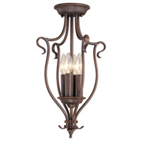 Livex Lighting Coronado 4 Light Foyer Pendant in Imperial Bronze 6127-58 alternative photo thumbnail