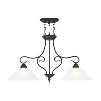 Livex Coronado 2 Light Island Light in Bronze 6132-07