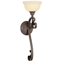 Livex Lighting Manchester 1 Light Wall Sconce in Imperial Bronze 6140-58