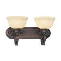 Livex Lighting Manchester 2 Light Bath Light in Imperial Bronze 6142-58
