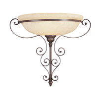 Livex Lighting Manchester 1 Light Wall Sconce in Imperial Bronze 6160-58