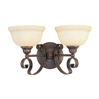 Livex Lighting Manchester 2 Light Bath Light in Imperial Bronze 6162-58