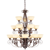 Livex 6169-58 Manchester 18 Light 44 inch Imperial Bronze Chandelier Ceiling Light