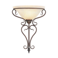 Livex Lighting Coronado 1 Light Wall Sconce in Imperial Bronze 6182-58